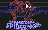 The Amazing Spider-Man Commodore 64 Title
