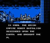 The Krion Conquest NES Opening exposition