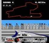 Michael Andretti's World GP NES The U.S.A. track