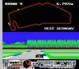 Michael Andretti's World GP NES The West Germany track