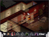 Clue: Murder at Boddy Mansion Windows Miss Scarlet taking her turn; graphics are high detail with translucent walls.