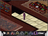 Clue: Murder at Boddy Mansion Windows This is the game with many of the graphical features turned off;  the scenes can be easier to discern without the translucent mansion walls.