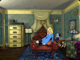 Sabrina: The Teenage Witch - Spellbound Windows In the bedroom with Sabrina and her cat
