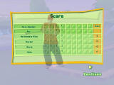 3D Ultra Mini Golf Adventures: Carnival Windows Final scorecard for the 4-hole demo