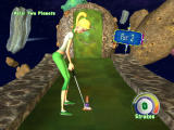 3D Ultra Mini Golf Adventures: Space Windows Kate plays the 2 Planets course-- start from one planet and putt to another planet