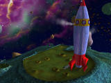 3D Ultra Mini Golf Adventures: Space Windows Camera sweep of the Rocket Man course