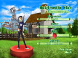 3D Ultra Mini Golf Adventures: Wild West Windows Character selection and customization