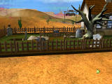 3D Ultra Mini Golf Adventures: Wild West Windows Camera sweep of the Graveyard Shift course