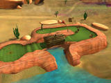 3D Ultra Mini Golf Adventures: Wild West Windows Camera sweep of the Dead Man's Creek course