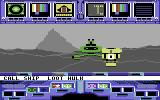 Koronis Rift Commodore 64 The robot returns with loot from another hulk.