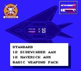 F-117A Stealth Fighter NES Loadout