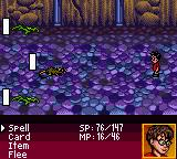 Harry Potter and the Sorcerer's Stone Game Boy Color A typical fight in the game.
