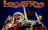 Legends DOS Title screen