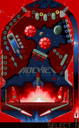 Pinball 2000 DOS Rocket Table