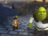 Shrek the Third Wii Shrek and Puss in Boots