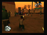 Grand Theft Auto: San Andreas PlayStation 2 My homies are protecting me from the police