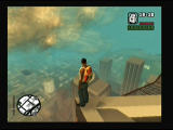 Grand Theft Auto: San Andreas PlayStation 2 View is nice, weather could be better though