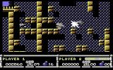CJ in the USA Commodore 64 Killing an enemy with a bomb