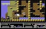 CJ in the USA Commodore 64 Sometimes, defeated enemies drop items