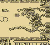 R-Type Game Boy First Level Boss