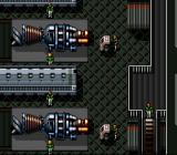Cyber Knight II: Chikyū Teikoku no Yabō SNES The resistance base against the Earth Federation