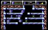 Cybernoid II: The Revenge Commodore 64 Maneuvering through a difficult passage