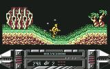 A.M.C.: Astro Marine Corps Commodore 64 The hero is protected by a ring