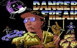 Danger Freak Commodore 64 Title screen