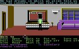 Zak McKracken and the Alien Mindbenders Commodore 64 Watching TV