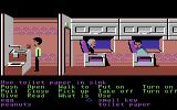 Zak McKracken and the Alien Mindbenders Commodore 64 Messing around on an airplane
