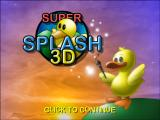 Super Splash 3D Windows (Super) Splash screen