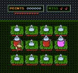 "Short Order/Eggsplode NES Destroying bombs in ""Eggsplode""."