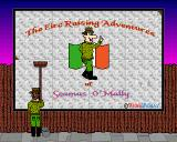 The Eire Raising Adventures of Seamus O'Mally Amiga Title screen
