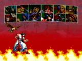 Samurai Shodown III: Blades of Blood PlayStation Character selection