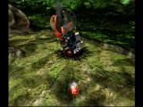 Pikmin GameCube The impact site