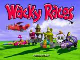Wacky Races PlayStation Title screen