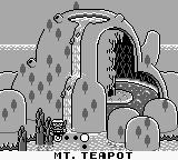 Wario Land: Super Mario Land 3 Game Boy Mt. Teapot