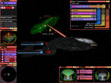 Star Trek: Bridge Commander Windows Severe hull damage