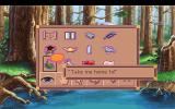 King's Quest VI: Heir Today, Gone Tomorrow DOS You can talk with some items in your inventory!