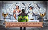 King's Quest VI: Heir Today, Gone Tomorrow DOS Chatting with the winged rulers of an island.