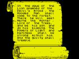 Robin of Sherwood: The Touchstones of Rhiannon ZX Spectrum Plot information form the loading routine