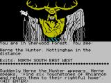 Robin of Sherwood: The Touchstones of Rhiannon ZX Spectrum The all-important instruction