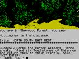 Robin of Sherwood: The Touchstones of Rhiannon ZX Spectrum To be lost in the forest