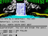 Robin of Sherwood: The Touchstones of Rhiannon ZX Spectrum This effect is animated