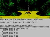 Robin of Sherwood: The Touchstones of Rhiannon ZX Spectrum A secret base