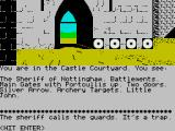 Robin of Sherwood: The Touchstones of Rhiannon ZX Spectrum Oh dear - but you can escape