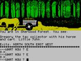 Robin of Sherwood: The Touchstones of Rhiannon ZX Spectrum Taxes, robbing from the poor to give to the rich?