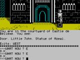 Robin of Sherwood: The Touchstones of Rhiannon ZX Spectrum Sad statue