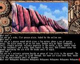 Time and Magik: The Trilogy Amiga Red Moon - Volcanic outcrop