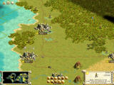 Sid Meier's Civilization III Windows Three of the largest cities, with a vast road network.